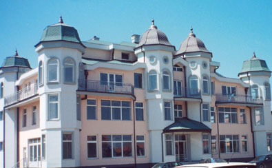 "Condominium and business building of company ""Villa Mandic"" in Novi Sad"