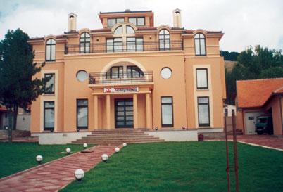 """Verwaltungsgebäude des Unternehmens """"Termogarding"""" in Gacko"""