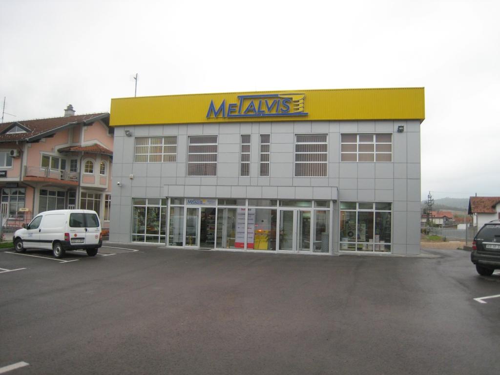 """Verwaltungsgebäude des Unternehmens """"Metalvis"""" in Derventa"""