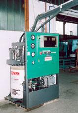 Machine automatique pour étanchéité de verre thermique avec polyuréthane