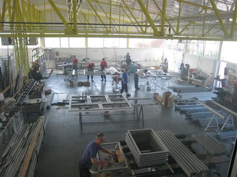 Хала за производњу столарије