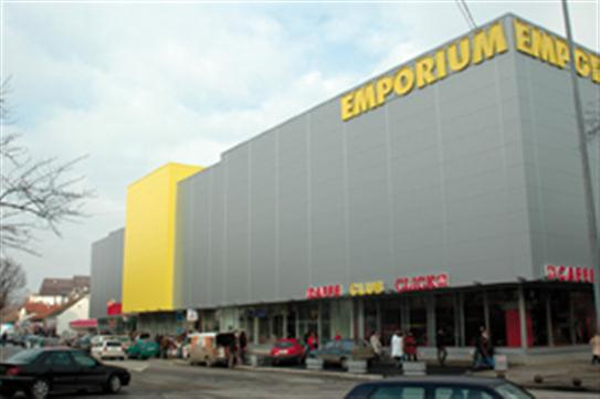 "Einkaufszentrum ""Emporium"" in Bijeljina"