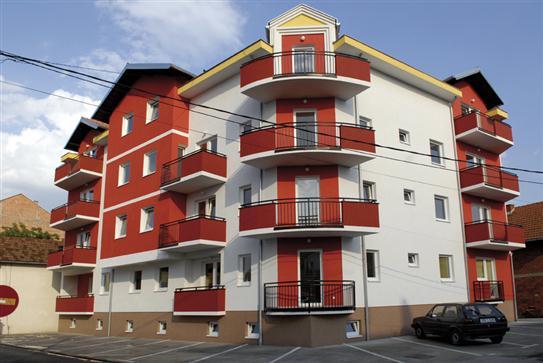 """Wohngebäude """"ES-Wohnblock"""" in Brcko"""
