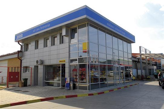"""Benzinska pumpa """"Jelen"""" u Brčkom"""