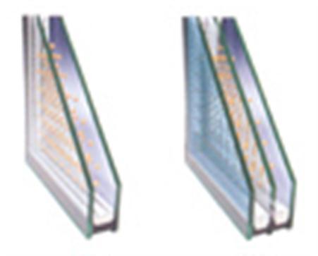 Standardmäßiges und dreischichtiges Wärmedämmungsglas