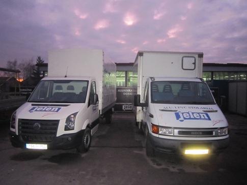 Pour la livraison rapide et efficace est shargé notre matériel roulant