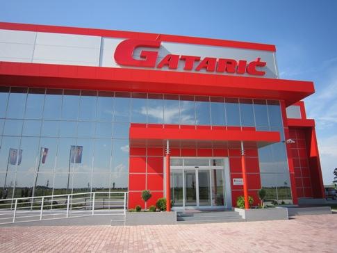 """Geschäftshaus """"Gatarić"""" Krnjesevci - Belgrad"""