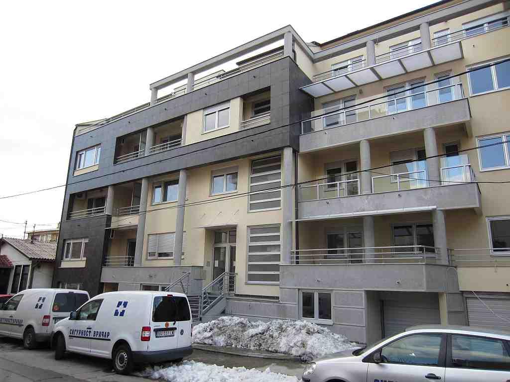 "Wohnbau ""Daneks Gebäude"" Vracar-Belgrad"