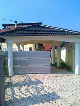 Alucobond Gate