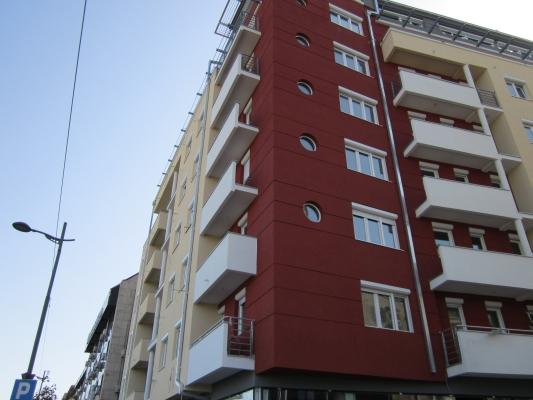Wohngebäude in der Straße Sarajevska, Belgrad